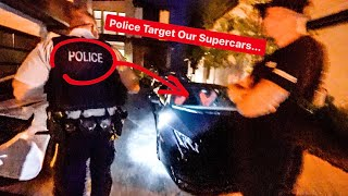 WE CAUGHT POLICE HIDING OUTSIDE OUR HOUSE! *BUSTED*