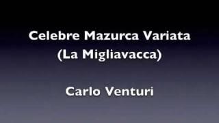 Celebre Mazurca Variata - Carlo Venturi