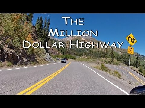 Colorado Motorcycle Trip: The Million Dollar Highway, Silverton to Ouray