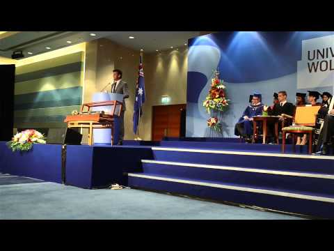 University Of Wollongong In Dubai's Undergraduate Graduation Ceremony- Autumn 2014