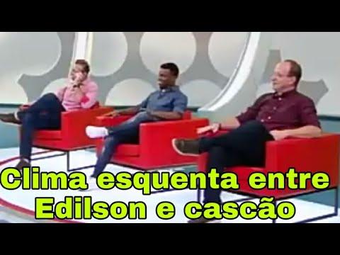 Download Clima esquenta entre Edilson e canhão  no programa os donos da bola da TV bandeirante