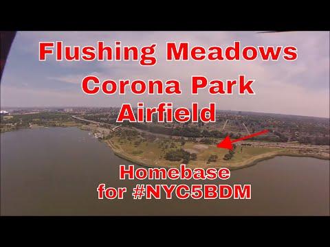 Quick flight around Flushing Meadows Corona Park