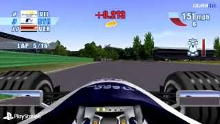 [PS1] F1 Championship Season 2000 Gameplay with eP
