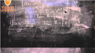 Academia Estepona Usero Dominio de funciones UD04 Matemáticas 1º Bachillerato