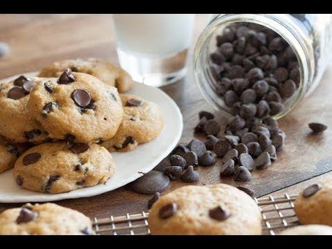 Pumpkin Chocolate Chip Cookies - YouTube