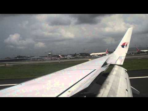 Malaysia Airlines | MH147 | KUL - BOM [HARD Landing]