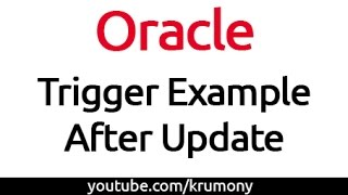 Oracle Trigger Example - After Update - krumony