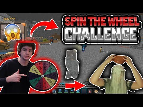 SPIN THE WHEEL INVIS RAIDING CHALLENGE!! [1] **I LANDED ON THE WORST ONE**