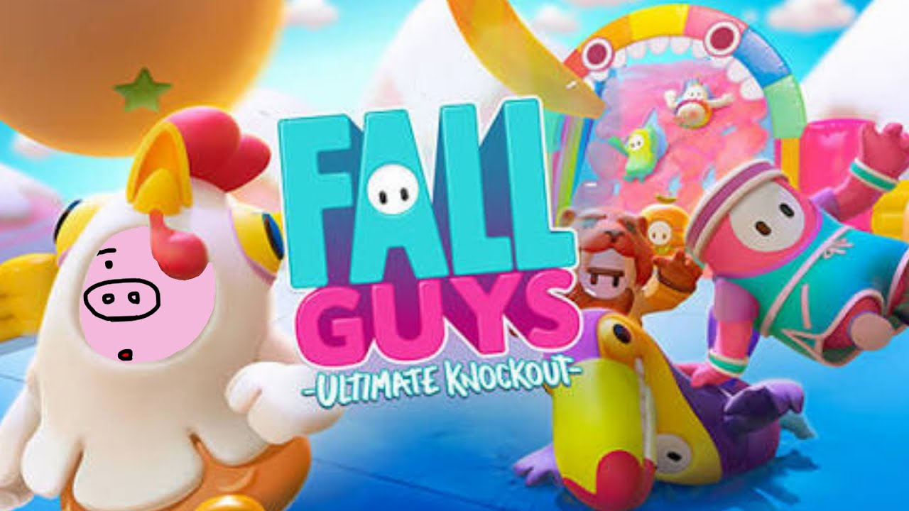 【Fall Guys】覇権を取ると言われている全米で話題のバトロワパーティーゲームを本気で遊ぶ