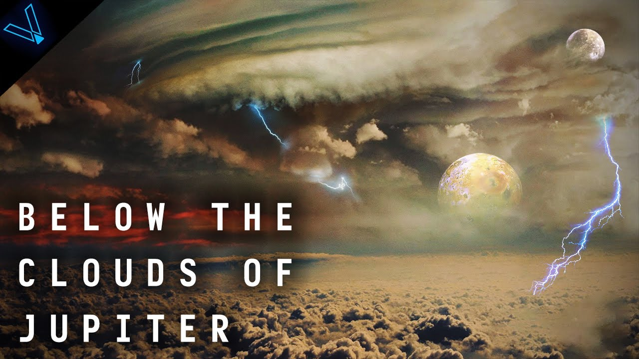 What's It Like Inside Jupiter? Below The Clouds Of A Gas Giant (4K UHD)