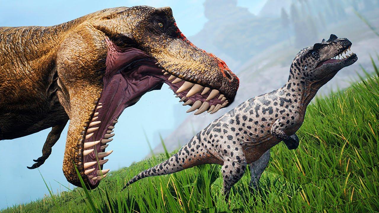Download O Ceratossauro Montanheiro! Pequenos Carnívoros e a Exploração na Ilha dos Rex   The Isle   (PT/BR)