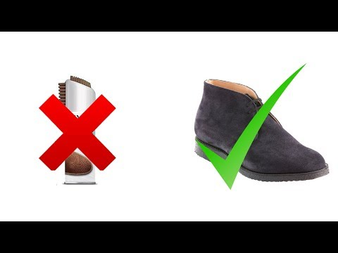 How To Clean Your Suede Shoes At Home(No Suede Polish Needed!)
