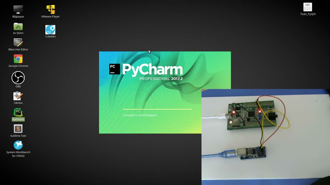 Python Serial PyQt5 and Stm32f4