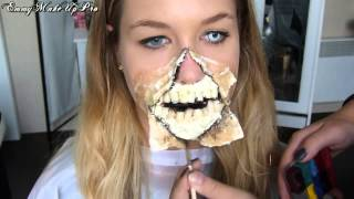 Maquillage Zombie sur EnjoyPhoenix
