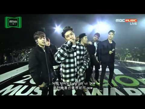 【韓中字】iKON 아이콘 - INTRO + 'My Type' @ 20151107 MELON MUSIC AWARDS