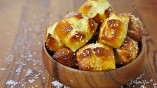 Best Recipe For Soft Pretzel Bites, Easy Recipe