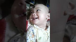 Cute baby smile