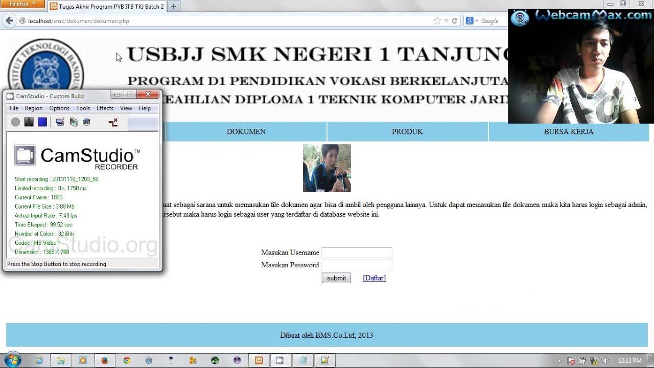 Tugas tahap 30 - Membuat website dengan PHP dan MySQL p ...