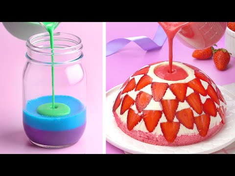 My Favorite Colorful Jelly Recipes | So Yummy Cake Tutorials | Perfect Cake For Everyone