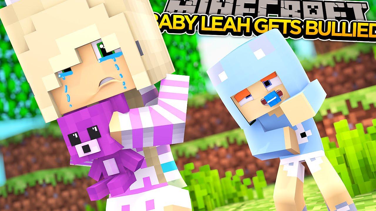 Minecraft Skin Wallpaper Girl Baby Leah Is Bullied In School Minecraft Little