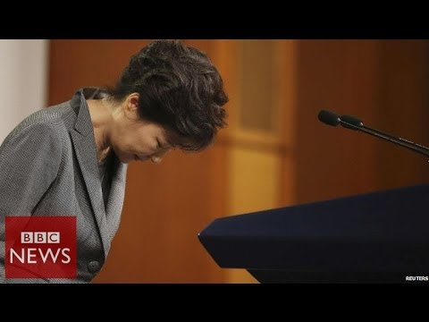 South Korea Ferry: Tearful president's TV apology - BBC News
