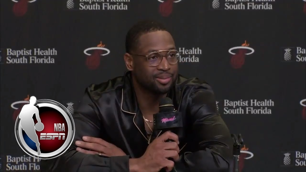 Dwyane Wade on his first game back with the Miami Heat | ESPN