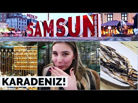 SAMSUN! Sokaklarını Geziyorum... KARADENIZ'in Kalbi