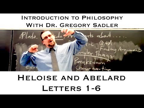 Heloise And Abelard, Letters 1-6 - Introduction To Philosophy
