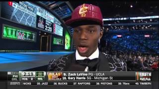 2014 NBA Draft #1 Pick Overall (Andrew Wiggins) Cleveland Cavaliers