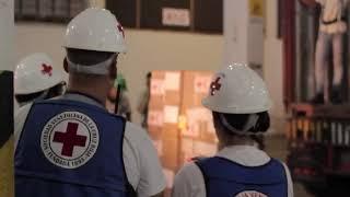 Cruz Roja recibe el segundo cargamento de ayuda humanitaria en Venezuela