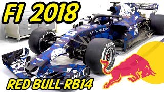 One of aarava's most viewed videos: F1 Red Bull RB14 Analysis - Lets Talk F1 2018