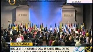 Roy Chaderton Protagonizó Impasse Con Jóvenes Venezolanos En La OEA