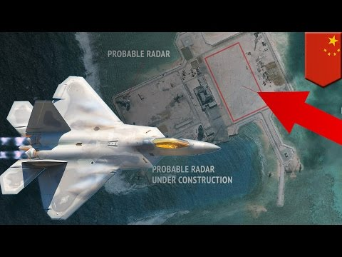 South China Sea: China builds radar system that can unstealth U.S. fighter jets - TomoNews
