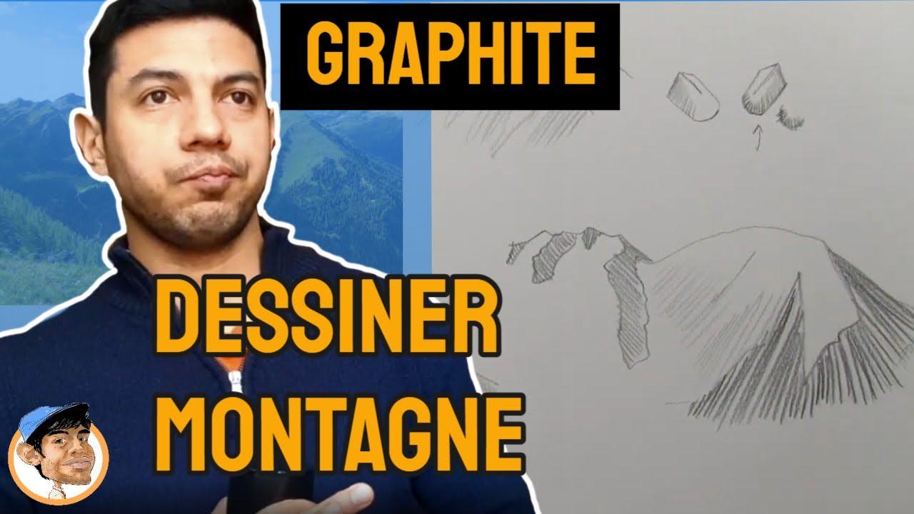 La Ligne à Placer Pour Dessiner Les Montagnes