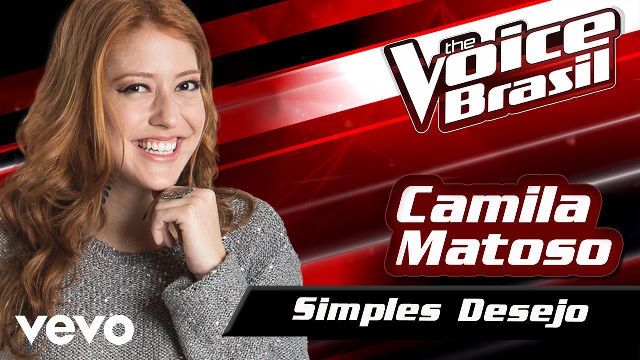 Camila Matoso - Simples Desejo – The Voice Brasil 2016 (Audição 3) (Audio)