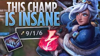 THIS CHAMP IS INSANE | BUSTED TALIYAH FACECAM GAMEPLAY | Tarzaned
