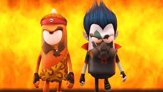Spookiz  Ready To Fight  스푸키즈  Funny Zombie Cartoon  Kids Cartoons