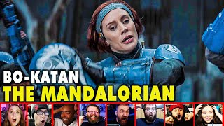 Reactors Reaction To Seeing Bo-Katan On The Mandalorian Season 2 Episode 3 | Mixed Reactions