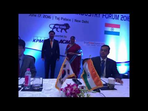 MOU Signed at KOREA INDIA INFRASTRUCTURE & INDUSTRY FORUM 2016