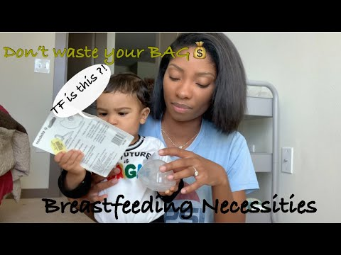 Breastfeeding Necessities    Essentials