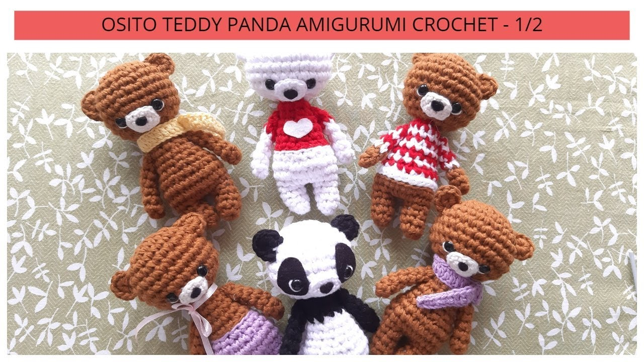 Amigurumi Crochet Panda Pattern | Supergurumi | 720x1280