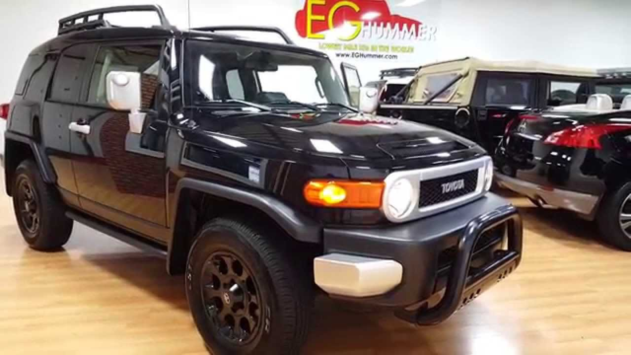2012 Toyota FJ Cruiser For Sale~ONLY 513 Miles~One Owner, Perfect CarFax! - YouTube