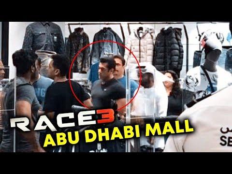 Salman Khan SHOPPING In A Abu Dhabi Mall After RACE 3 Shooting