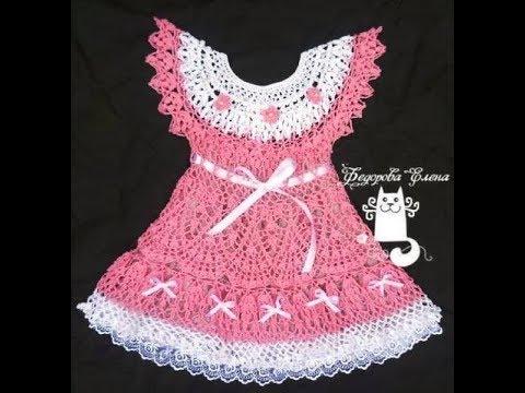 кокетка крючком для детского платья 2019 Coat Crochet For Baby