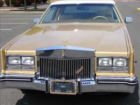 1985 Gold Cadillac Eldorado Coupe Less Than 90k Miles Excellent
