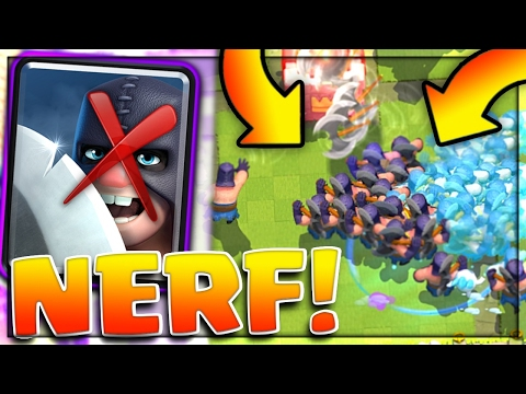 THE EXECUTIONER NERF! - Clash Royale New Update