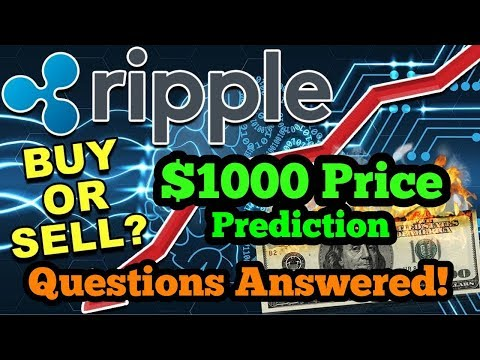 Ripple XRP - To Hit $1000! - Questions & Points Answered - Ripple XRP News - Ripple XRP Price -