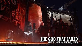Metallica: The God That Failed (Madrid, Spain - May 3, 2019) YouTube Videos