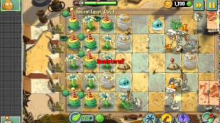 Растения против зомби 2 уровень 8 древний египет