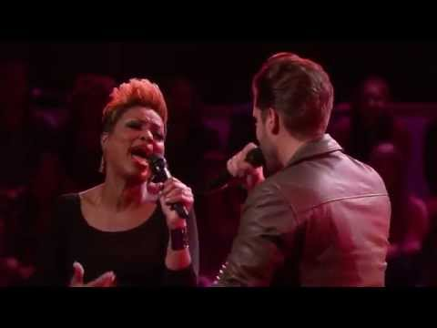 The Voice USA 2015 Face Off - Nobody Knows - Viktor Kiraly vs Cassandra Robertson